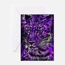 Cute Jaguar Greeting Card