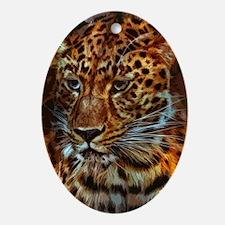 Jaguar 029 Oval Ornament
