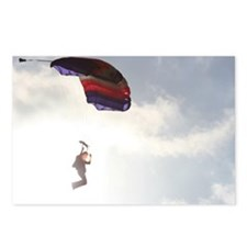Come Fly-Skydiver1 Postcards (Package of 8)