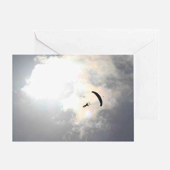 Skydiver4 Greeting Card