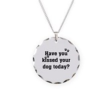 Kiss Your Dog Necklace
