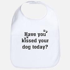 Kiss Your Dog Bib