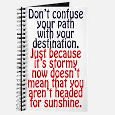 Sunny Destination Journal