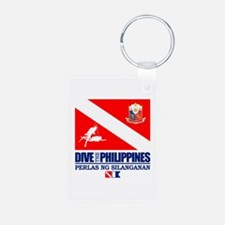 Dive The Philippines Keychains