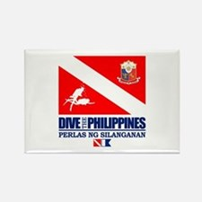 Dive The Philippines Magnets