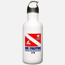 Dive The Philippines Water Bottle