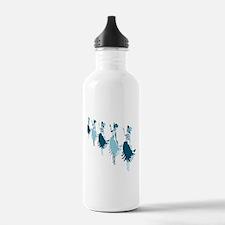Hula Blues Water Bottle