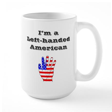 Left-handed American Large Mug