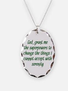 Better Serenity Prayer Necklace