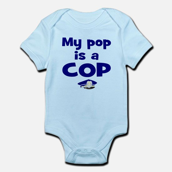 Pop is a cop Body Suit