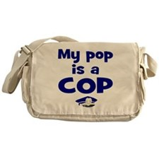 Pop is a cop Messenger Bag
