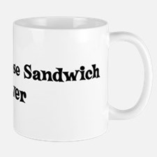 Toasted Cheese Sandwich lover Mug