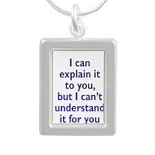 Explanation not Understanding Necklaces