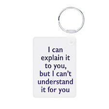 Explanation not Understanding Keychains