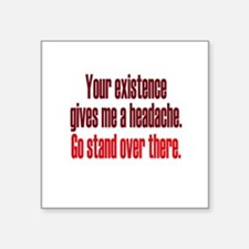 Headache Existence Sticker