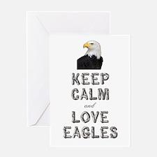 Eagle Greeting Card