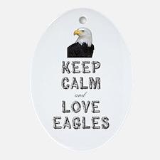 Eagle Ornament (Oval)