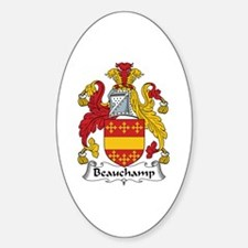 Beauchamp Oval Decal
