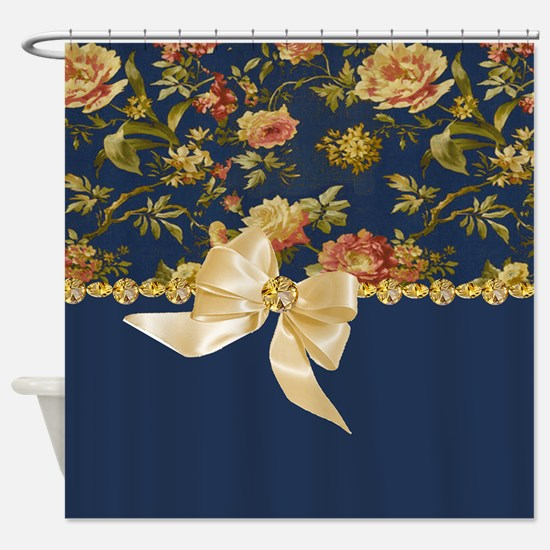 Romantic Ruby Shower Curtain