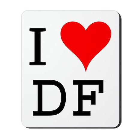 I Love DF Mousepad