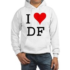 I Love DF Hoodie