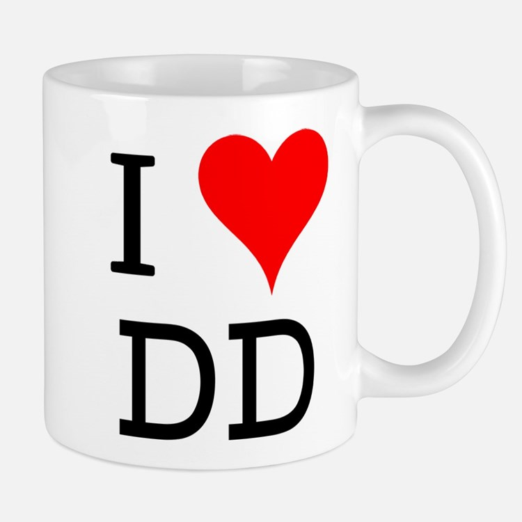 I Love DD Mug