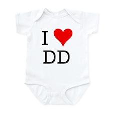I Love DD Infant Bodysuit