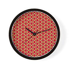 Mosaic Circle Pattern Wall Clock