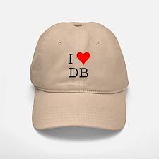 I Love DB Baseball Baseball Cap