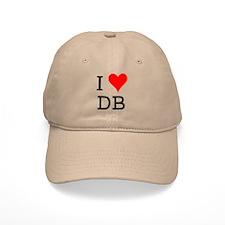 I Love DB Baseball Cap