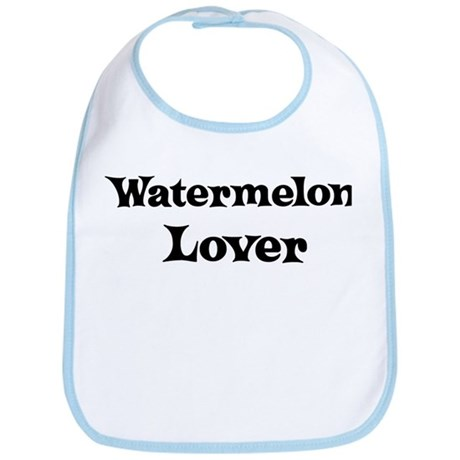 Watermelon lover Bib