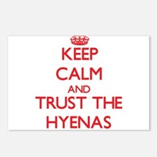 Keep calm and Trust the Hyenas Postcards (Package