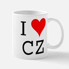 I Love CZ Mug