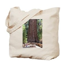 General Sherman Sequoia with Girls Tote Bag