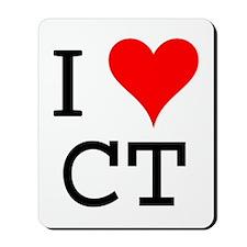 I Love CT Mousepad