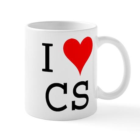 I Love CS Mug