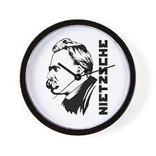 Strk3 Nietzsche Wall Clock