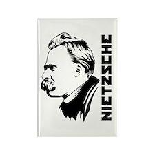 Strk3 Nietzsche Rectangle Magnet