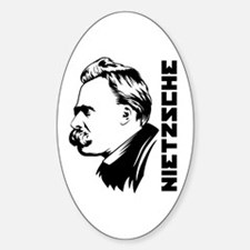 Strk3 Nietzsche Oval Decal