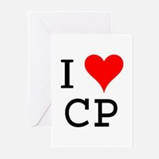 I Love CP Greeting Cards (Pk of 10)
