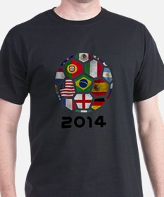World Cup 2014 Soccer Ball (Football) T-Shirt