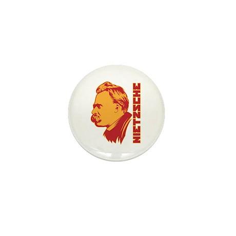 Strk3 Nietzsche Mini Button