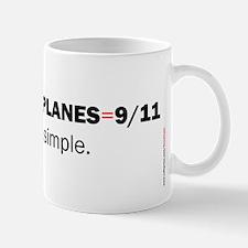 Terrorists+planes=9/11: Mug