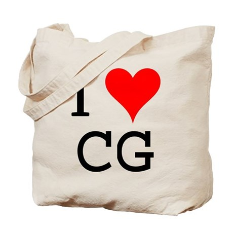I Love CG Tote Bag