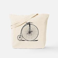 Vintage Penny Farthing Bicycle Tote Bag