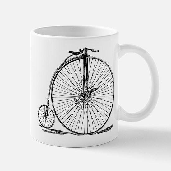 Vintage Penny Farthing Bicycle Mugs