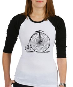 Vintage Penny Farthing Bicycle Baseball Jersey