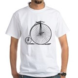 Bicycle Mens White T-shirts