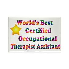 World's Best COTA Rectangle Magnet (100 pack)