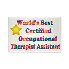 World's Best COTA Rectangle Magnet (10 pack)